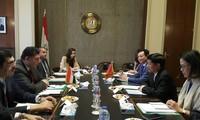 Vietnam y Egipto fortalecen la cooperación multisectorial