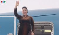 Presidenta parlamentaria de Vietnam finaliza visita de trabajo al exterior