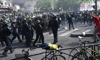 """Chalecos Amarillos"" cumplen 23 semanas consecutivas de protesta en Francia"