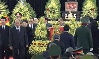 Vietnam realiza ceremonia fúnebre en honor del expresidente Le Duc Anh