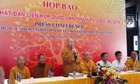 Día de Vesak 2019 en Vietnam espera recibir a mil 650 delegados extranjeros