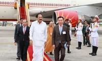 India aboga por consolidar las relaciones de cooperación multisectorial con Vietnam