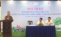 Sangha Budista de Vietnam se suma a los esfuerzos nacionales para proteger la biodiversidad