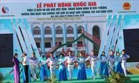 Inician Semana de Mar e Islas de Vietnam y Mes de Acción por el Medio Ambiente en localidad sureña
