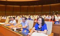 Parlamento vietnamita aprueba leyes trascendentales para el desarrollo nacional