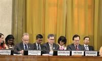Vietnam preside un pleno de la Conferencia de Desarme de la ONU