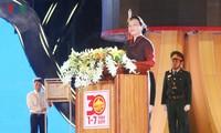 Líder parlamentaria de Vietnam continúa agenda de trabajo en región central