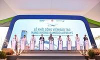 Bamboo Airways empieza a construir su primer centro de entrenamiento aeronáutico en Vietnam