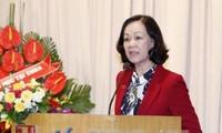 Nombran nueva presidenta de Asociación de Amistad Vietnam-Cuba