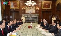 Primer ministro de Vietnam se reúne con presidente del Senado japonés