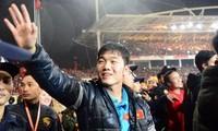 Equipo de fútbol sub-23 honrado en una gran ceremonia celebrada en el Estadio Nacional
