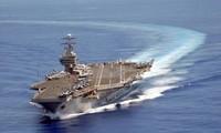 Una flota de Estados Unidos visita Vietnam