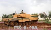 El ejército turco toma el control de la ciudad siria de Jinderes en la región de Afrin