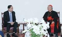 Comprometidos cristianos y protestantes vietnamitas con desarrollo nacional