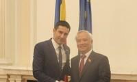Vietnam y Rumanía afianzan lazos parlamentarios