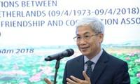 Conmemoran al 45 aniversario de las relaciones diplomáticas entre Vietnam y los Países Bajos