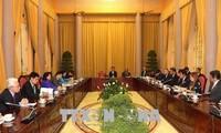 Vicepresidenta de Vietnam insta a ciudad japonesa de Fukuoka a aumentar inversiones