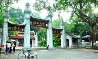 La belleza de la pagoda Lang