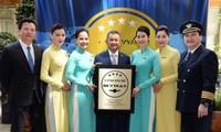 Vietnam Airlines reconocida como aerolínea 4 estrellas