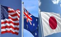 Australia, Japón y Estados Unidos aumentan su influencia en el Indo-Pacífico.