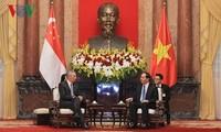 Vietnam y Singapur por profundizar la asociación estratégica