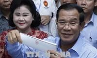 Líder partidista de Vietnam felicita las exitosas elecciones parlamentarias de Cambodia