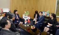 La delegación de la Inspección del Gobierno de Vietnam visita Japón