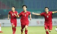Prensa asiática alaba la victoria histórica de la selección olímpica de Vietnam en Asiad