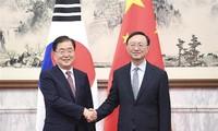 Altos funcionarios de China y Corea del Sur se reúnen en Beijing