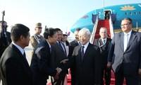 Líder partidista vietnamita comienza visita oficial a Hungría