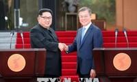 Comunidad internacional alaba resultado de la tercera cumbre entre las dos Coreas