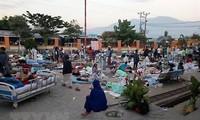 Indonesia aumenta trabajo de rescate y seguridad en localidad azotada por el terremoto y tsunami