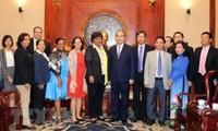 Líder de Ciudad Ho Chi Minh recibe a dirigente cubana