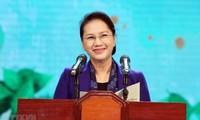 Presidenta de Asamblea Nacional de Vietnam llama a más recursos para la reducción sostenible de pobreza