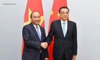 Premier vietnamita se reúne con sus homólogos de China y Noruega en Bélgica