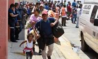 México abre frontera para inmigrantes femeninas e infantiles