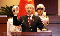 Líderes mundiales continúan enviando mensajes de congratulación al nuevo presidente vietnamita