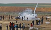 Fuerzas de Israel y Palestina chocan en Gaza