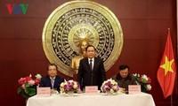 Líder del Frente de la Patria de Vietnam visita China