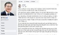 Presidente de Corea del Sur felicita victoria de selección nacional de fútbol de Vietnam