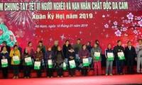 Recaudan fondos para los necesitados en Ha Nam en ocasión del Tet 2019