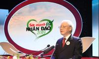 Presidente de Vietnam llama a promover valores humanitarios
