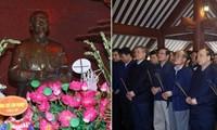 Premier vietnamita rinde tributo al presidente Ho Chi Minh en ocasión del Tet