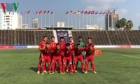 Vietnam encabeza el grupo A del Campeonato de fútbol regional sub-22