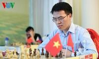 Buen comienzo para el mejor jugador de ajedrez de Vietnam en competición internacional
