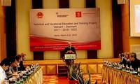 Vietnam y Dinamarca evalúan la eficiencia del proyecto de formación profesional binacional