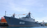 Fragata de Vietnam llega a Malasia para exposición internacional