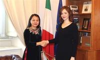 Vietnam e Italia intercambian experiencias sobre igualdad de género