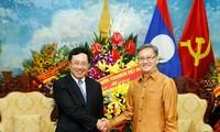 Vicepremier vietnamita felicita a Laos por festival Bunpimay