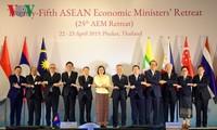 Asean espera aprobar importantes documentos sobre economía